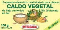 Caldo Vegetal Eco Bajo En Sal 6Pastillas - Integralia