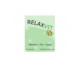 Dieticlar Relaxvit Valeriana+Tila+Lúpulo 60 Cápsulas - Farmacia Ribera