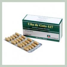 Uña De Gato 427 100 Cap.  - Fharmocat
