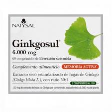 Ginkgosul (Trastornos Circulatorios) 60 Comp. - Natysal
