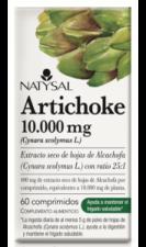 Artichoke 10.000Mg. 60 Comp. - Natysal