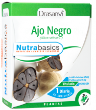 Nutrabasics Ajo Negro 24 Cap.  - Drasanvi