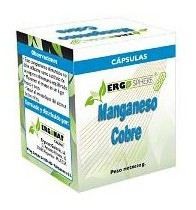 Ergonat Galenic Manganeso - Cobre 50 Cápsulas
