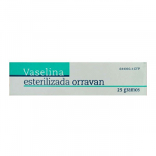 Vaselina Esterilizada Orravan (Pomada 25 G) - Orravan