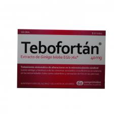 Tebofortan (40 Mg 60 Comprimidos Recubiertos) - Schwabe Farma