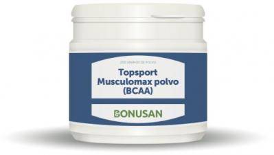 Topsport Musculomax (Bcaa) Polvo 200 Gr. - Bonusan