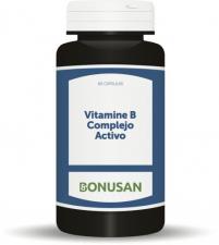 Vitamina B Complejo Activo 60 Comp. - Bonusan