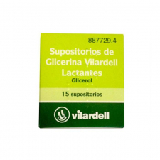 Supositorios Glicerina Vilardell Lactantes (0,92 G 15 Supositorios) - Varios
