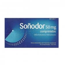 Soñodor (50 Mg 16 Comprimidos) - Varios