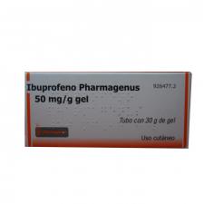 Ibuprofeno Pharmagenus (50 Mg/G Gel Topico 30 G) - Varios