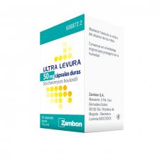 Ultra-Levura (50 Mg 50 Cápsulas) - Zambon