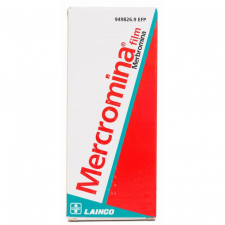Mercromina Film Lainco (20 Mg/Ml Solucion Topica 250 Ml)