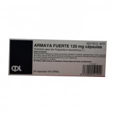 Armaya Fuerte (120 Mg 24 Cápsulas) - Varios