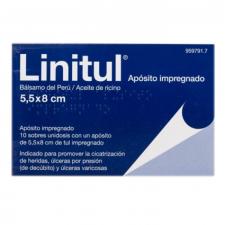 Linitul (10 Apositos Monodosis 5.5 X 8 Cm) - Varios