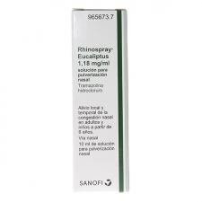 Rhinospray Eucaliptus (1.18 Mg/Ml Nebulizador Nasal 10 Ml)