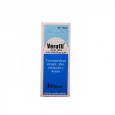 Verufil (Solucion Topica 15 Ml) - Glaxo Smithkline