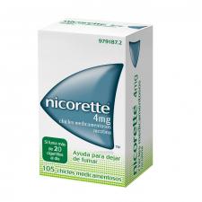 Nicorette (4 Mg 105 Chicles) - Johnson & Johnson