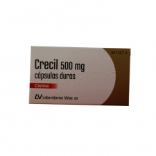 Crecil (500 Mg 40 Cápsulas) - Laboratorios Viñas