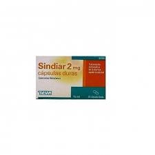 Sindiar (2 Mg 20 Cápsulas) - Teva