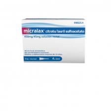 Micralax (Emulsion Rectal 4 Microenemas 5 Ml) - Johnson & Johnson