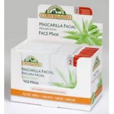 Mascarilla Facial Bio Aloe Vera Y Salvia 24Sbrs.