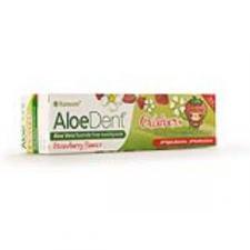 Dentifrico Aloe Vera Sin Fluor (Fresa) Niños 50Ml.