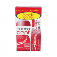 Normodent Gingivitis Pack Pasta Dental + Colutorio