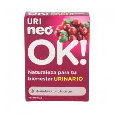Urineo Arandano Rojo 30 Capsulas 500 Microgranul
