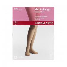 Media Farmal Lar Fte C/Punt Blonda Beige T/G 24-25 Cm 1 Un