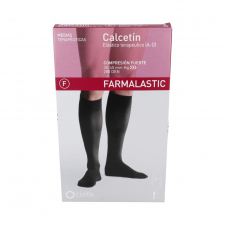 Calcetin Farmal Fte Elastico C/Punt Negro T/Eg 26-27 Cm 1 Un