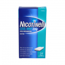 Nicotinell Mint 2 Mg 24 Chicles