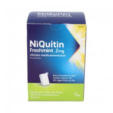 Niquitin Freshmint 2 Mg 100 Chicles Medicamentosos