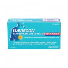 Gaviscon 24 Comprimidos Masticables (Sabor Fresa)