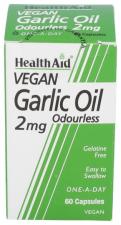 Aceite de ajo (Allium sativum) 2 mg 60 Cápsulas - Health Aid