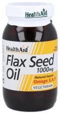 Aceite de linaza 1.000 mg 60 Cápsulas - Health Aid