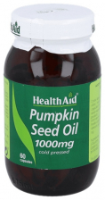Aceite de semilla de calabaza 1.000 mg 60 Cápsulas - Health Aid