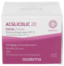 Acglicolic 20 Crema Hidratante Spf 15 50 Ml. - Sesderma