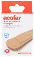 Acofar Aposito Adhesivo Plastico Viaje 12 Tiras - Farmacia Ribera