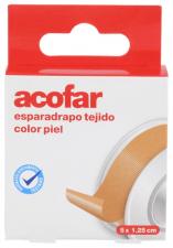 Acofar Esparadrapo Color Piel 5Mx1,25Cm - Varios