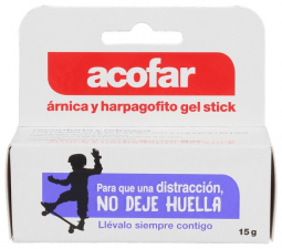 Acofar Gel Stick De Arnica Y Harpagofito  15 Ml - Varios