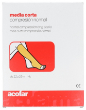 Acofar Media Corta Ad Compresión Normal T4 - Farmacia Ribera