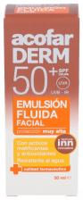 Acofarderm Spf 50+ Emulsion Fluida Facial 50 Ml - Farmacia Ribera