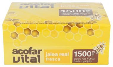 Acofarvital Jalea Real 1500 Mg 20 Viales Bebible - Varios