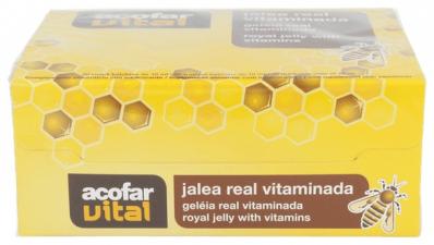 Acofarvital Jalea Real Vitaminada 20 Viales - Varios
