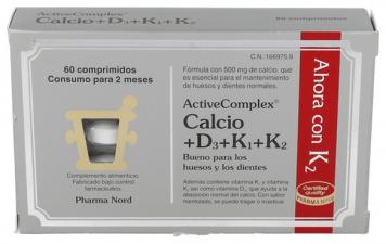 ActiveComplex Calc D-K 60 Comprimidos Pharma Nord
