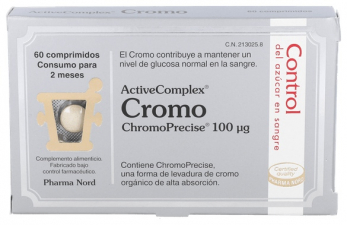 ActiveComplex Cromo 60 Comprimidos Pharma Nord