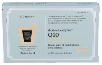 ActiveComplex Q10 Gold 100M 30 Cápsulas Pharma Nord