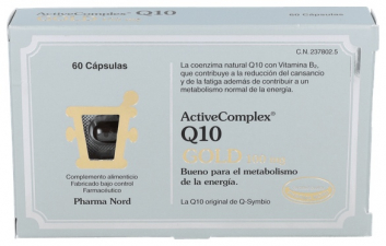 ActiveComplex Q10 Gold 60 Capsulas Pharma Nord