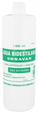 Agua Bidestilada Orravan 1 L
