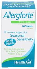 Allergforte 60 Comprimidos - Health Aid